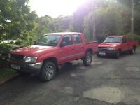 Wanted toyota hilux pickup (diesel or petrol) 4x4 and 2wd