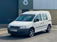 2008 Volkswagen Caddy 2.0SDI PD 69PS Van - NO VAT - LONG MOT - ALLOY WHEELS + DR