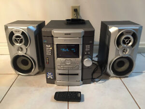 Sony HMC-GX20, CD, Tapes, AM/FM MINI Hi-Fi Stereo System