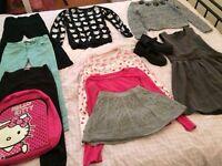 Girls clothes bundle autumn/winter age 7-8