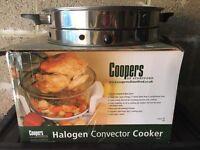 Halogen convector cooker