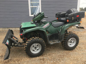 2014 YAMAHA 700 GRIZZLY WITH PLOW...FINANCING AVAILABLE
