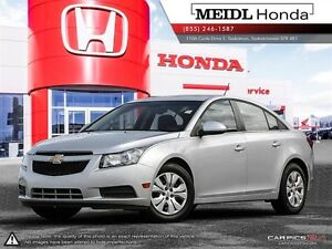 Chevrolet Cruze LT Turbo w-1SA PST Paid $120 Bi-Weekly  2012