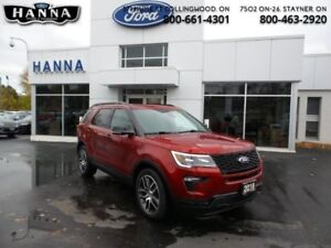 2018 Ford Explorer Sport 4WD  *400A*