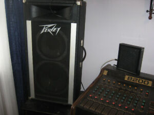 2  -P.A speakers for sale