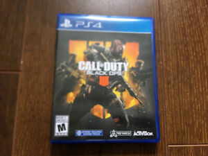 Call of Duty: BLACK OPS 4  for PS4 Game Disc