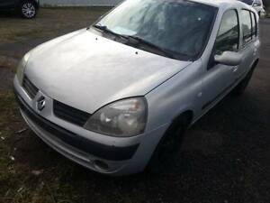 Parts are available for 2004 Renault Clio Hatchback (wrecking) Willawong Brisbane South West Preview