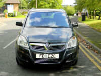 2011 Vauxhall Zafira 1.7 CDTi ecoFLEX 16v Elite 5dr WITH FSH+LEATHER+MP3+7 SEATS