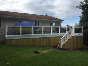 gaslards fenceand deck