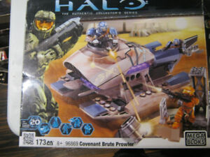 TWO MEGA BLOKS HALO Covenant Brute Prowler 96869