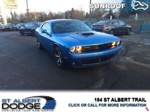 2016 Dodge Challenger R/T  HEATED LEATHER   SUNROOF   BACK CAM