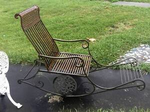 "Wrought Iron Rocking Chair - ""Stuning Piece"" Sylvania Sutherland Area Preview"