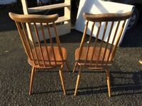 2 Errol chairs