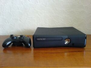 Xbox 360 Slim with Power Supply and Controller in good condition