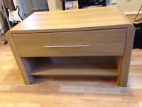 Hygena coffee table with drawer