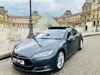 2015 Tesla Model S 70D, Free Supercharging Auto Hatchback Electric Automatic