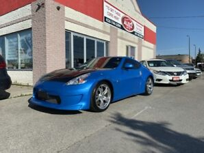 2011 Nissan 370Z RARE BABY BLUE/ CARBON FIBER HOOD/ AMUSE BODY KIT/