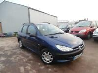 PEUGEOT 206 SW 1.4 PETROL 5 DOOR ESTATE