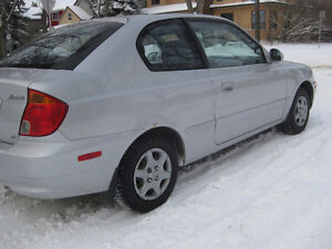 2005 Hyundai Accent GS Coupe (2 door) Low Kms 155