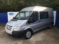 2012 62 Ford Transit 2.2TDCi ( 125PS ) 280S Double Crew Cab MWB Trend Van