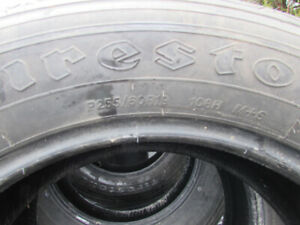(4) P255/60R19 Tires For Sale