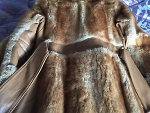 Retro Muskrat and Leather coat