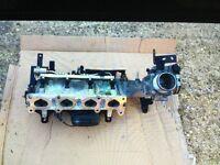 Vauxhall corsa d vxr inlet manifold