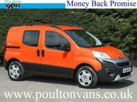 FIAT FIORINO PROF 16V EU6 COMBI ADVENTURE 4 SEAT CREW CAB / DOUBLE CAB / COMBI