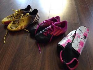 Souliers de soccer pour fille