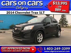 2014 Chevrolet Trax 1LT $0 DOWN, $89/BW! APPLY NOW!