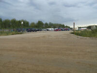 FOX CREEK 1 ACRE INDUSTRIAL LOT FOR RENT WITH ON SITE SECURITY
