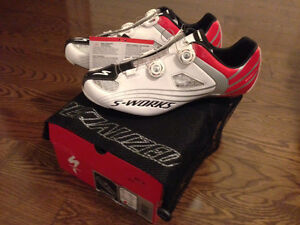 NEW SPECIALIZED S-WORKS SHOES, CHAINRINGS, HANGER