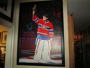Carey Price Autographed Canvas by Frameworth