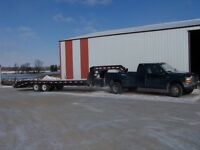 empty turck and trailer to london ont