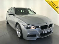 2014 BMW 325D M SPORT AUTOMATIC DIESEL ESTATE 1 OWNER SERVICE HISTORY FINANCE PX