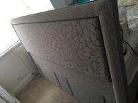 Band new super King floor standing headboard