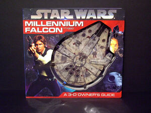 Star Wars Millennium Falcon 3D Owner's Guide - NEW