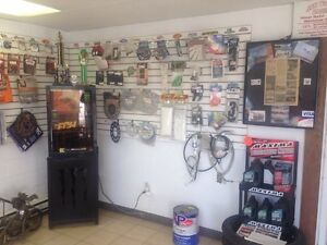 Dirtbike parts and snowmobile parts