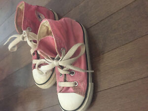 Girls Converse Sneakers Size 8