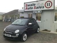 2014 FIAT 500 C LOUNGE 1.2L CONVERTIBLE - 11,467 MILES - FULL HISTORY - 1 OWNER