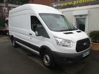 2014 64 FORD TRANSIT NEW SHAPE MODEL 350 LONG WHEEL BASE HI TOP 125 PSI TURBO D