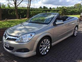 VAUXHALL ASTRA 1.9 CDTI 16V [150] EXCLUSIVE [EXTERIOR PACK] CONVERTIBLE 2008 58