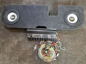 Truck stereo equipment