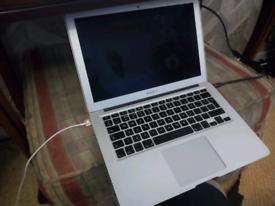 LAPTOP MacBook Air A1466, i5 CPU,120GB,4GBRAM,HDMI INC, EXCEL BATTERY,