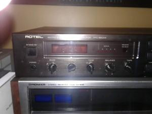 ROTEL PRE AMP TUNER