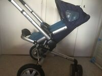 Quinny Buzz 3 and car seat and accessories