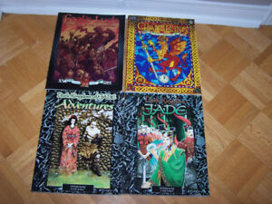 4 WHITE WOLF GAMING BOOKS - see below