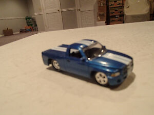 Loose Blue Metallic 1999 '99 DODGE RAM SST by JOHNNY LIGHTNING Sarnia Sarnia Area image 9