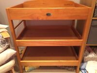 Baby weavers changing table