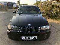 "2006 56 BMW X3 3.0d M Sport DIESEL AUTOMATIC 4X4 CREAM LEATHER BODYKIT 18"" M SP"